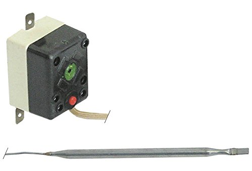 TECASA Sicherheitsthermostat für Fritteuse Fimar SF99, SF9, FT8, FT88, FT4, SF9N, SF99N, VEGA 81064, 81065, CHEF 1-polig 240°C