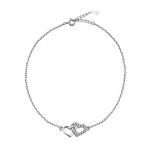 SOFIA MILANI Damen Armband Armkette Herz Love Silber 30081