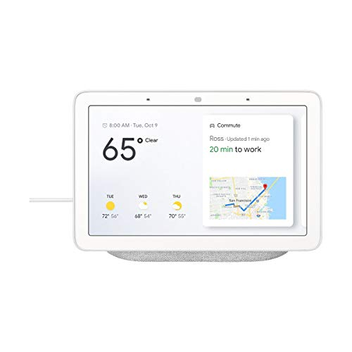 Google Home Hub - Smart Home Controller Assistant GA00516-US - Chalk (Brand New)