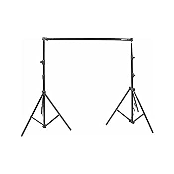 Manfrotto 1314B Background Support Set with Bag and Spring,Black