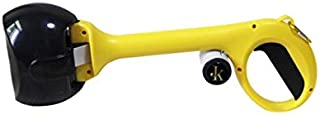 J&K Ink. Pet Pooper Scooper for Waste Pick Up, XL Pooper Scoopers for Dogs and Cats with Long Handle, 8 Rolls of Poop Bags Included