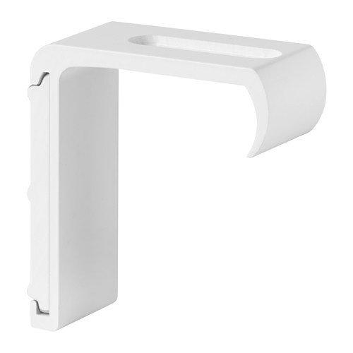 Ikea kvartal pared Herraje para rieles de cortinas; en blanco; (7cm)