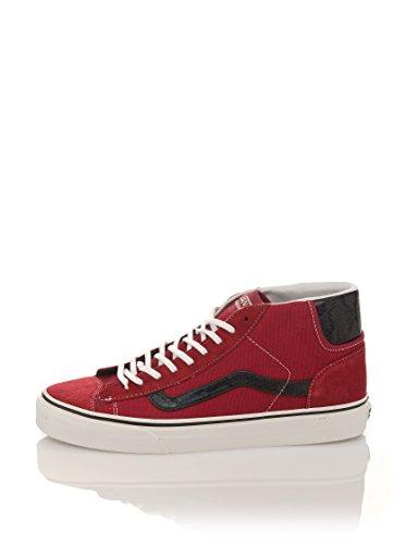 Vans Unisex – Erwachsene U Mid Skool 77 Sneaker, rot, 36.5 EU