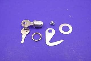 V-Twin Manufacturing Lock and Hook Kit for Fiberglass Saddlebags 37-8375