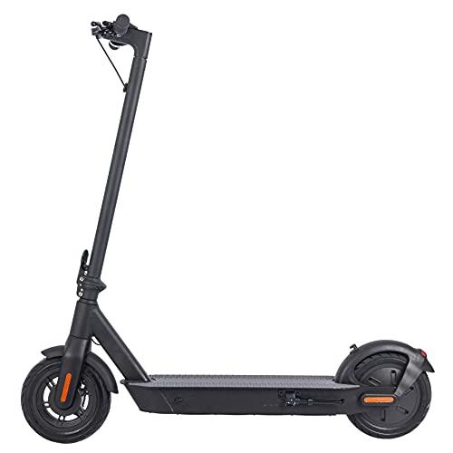 ZWHEEL Patinete eléctrico para Adulto E9B MAX, hasta 40km de autonomía, 25km/h, 4 Modos de Velocidad, 400W Motor, Plegable, Control de Crucero, conexión App móvil
