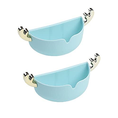 othulp Jabonera Ducha Jabonera Viaje Jabonera para Ducha Jabones para baño con Drenaje De Plato de jabón Platos de jabón con Drenaje Jabón de Ducha Titular Blue,One Size