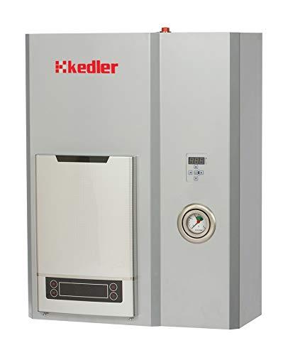 Caldera electrica para calefaccion central + agua caliente sanitaria, venus 9 kW 400 V con mini calentador de agua instantaneo 12 kW
