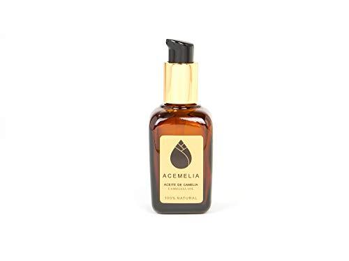 Premium OLIO DI CAMELIA - 50ml - Cura naturale del corpo, viso e capelli - puro al 100%