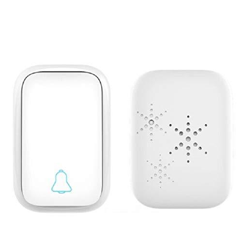 LANDUA Timbre inalámbrico sin batería Necesita botón pulsador EU/AU/US/UK 220v Impermeable Smart House Calling Ring Bells