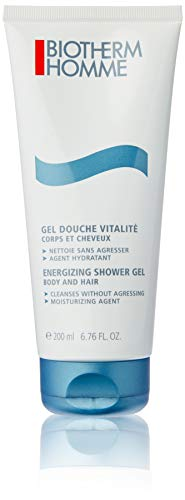 Biotherm homme/men, Energizing Shower Gel, 1er Pack (1 x 200 g)