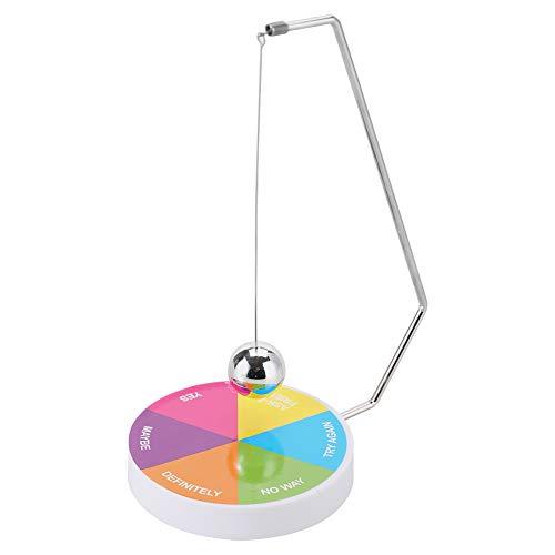 Hilitand Magnetische entscheidungsträger Ball schaukel pendel Schreibtisch Dekoration Spielzeug Geschenk, perfekte unschlüssige momente(#02)
