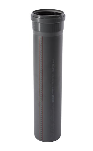 Ostendorf HTsafe HT-Rohr mit Muffe DN 125 mm 500 mm