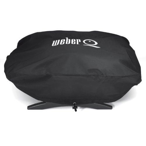 Weber Q Housse en vinyle pour bébé, Q100, Q120, Q1000, Q1200, modèle : maison et extérieur