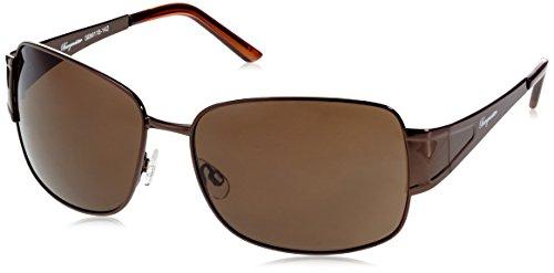 Klassische Marken Sonnenbrille für Herren von Burgmeister mit 100% UV Schutz | Sonnenbrille mit stabiler Metallfassung, hochwertigem Brillenetui, Brillenbeutel und 2 Jahren Garantie | SBM118-142