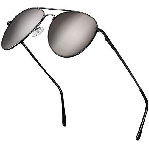 Balinco Gafas de sol de aviador montura negra - para hombre y...