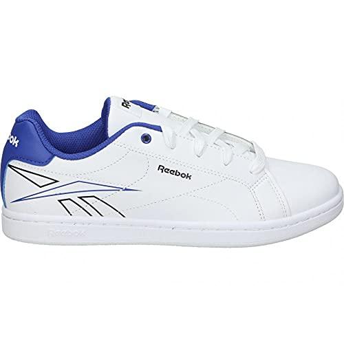 Reebok Royal Complete CLN 2.0, Zapatillas de Tenis Hombre, FTWBLA/FTWBLA/BRGCOB, 39 EU
