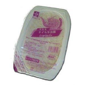 弁次郎商店 インディカ種;粘りがたまらない タイ産 もち米 レトルトパック200g×24個ケース売り+バスマティ籾玄米3P