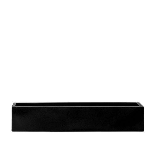 AMEI Pflanzgefäß Der Lange M, schwarz 80x17x15 cm