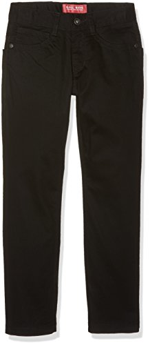 G.O.L. Jungen Five-Pocket-Stretch-Jeans, Regularfit Jeanshosen, Schwarz (Black 2), 182