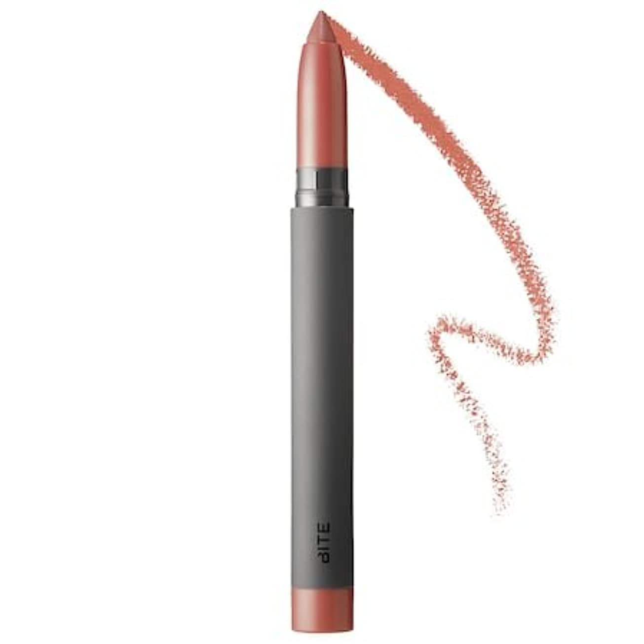 アンカーまともなターゲットBITE BEAUTY Matte Crème Lip Crayon (Amaretto)