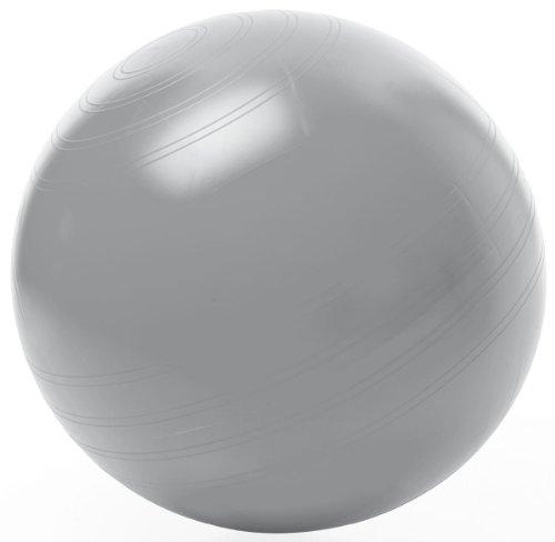 TOGU Gymnastikball Sitzball ABS (Berstsicher), 75 cm, silber