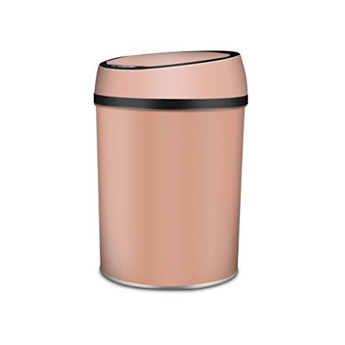 Style européen Rose Gold Remplacement Automatique des Sacs à ordures Induction Intelligente Poubelle Salle de séjour Salle de Bain Chambre Mode Accueil Barillet électrique Créatif