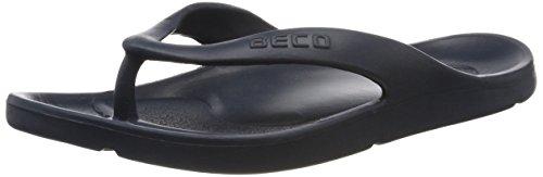 BECO Beermann GmbH & Co. KG Damen Zehenslipper-90320 Zehentrenner, Blau (Marine 7), 37 EU