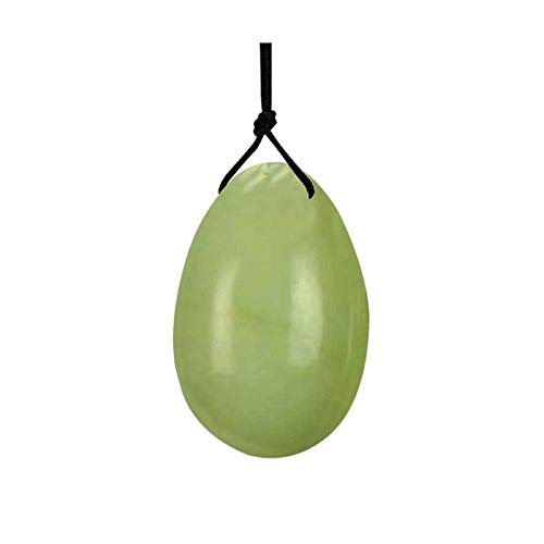 Massagesteine Massage StonesNatural Jade Yoni Ei Vaginal Straffung Yoni Eier Exerciser Mutterschaft Vaginal Massage Yoni Ball Ei Frauen Gesundheitswesen-France_30x20mm_yellow