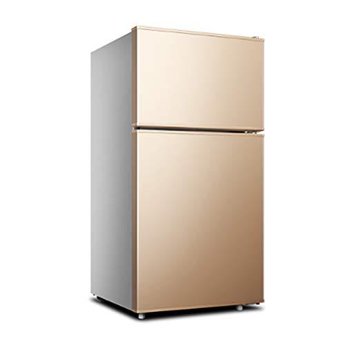 NJ De Pie Refrigerador Frigo| Capacidad Total 58L| 2 Estantes Ajustables Y Estantes Luz Interior| para El Hogar, Oficina, Dormitorio Congelador Nevera Altura: 76 Cm / 29,9 Pulgadas