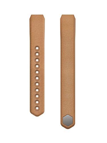 Fitbit Cinturino di Ricambio per Fitbit Alta in Vera Pelle, Taglia S (Circonferenza del Polso 14 cm - 17 cm), Cammello
