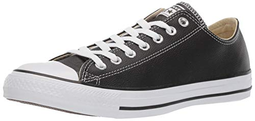 Converse Chuck Taylor All Star Ct Ox Leather, Sneaker Unisex - Adulto, Nero (Black), 38 EU