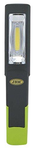 JBM 52523 Lámpara portátil Base articulada led COB con batería Recargable