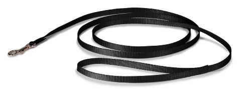 "PetSafe Nylon Leash, 3/8"" x 6', Black - LSH-3/8-X-6-BLK"