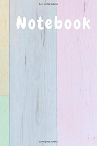 Notebook: Beautiful Pastel Color Notebook - Graph Paper Composition Notebook - 6 x 9 inches - 100 Pages - Quad Ruled 5 Squares Per Inch ( 5x5 ) ( Notebook   Journal )
