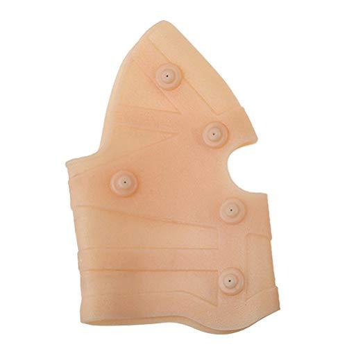 CLISPEED Magnetische Kniebandage Magnet Knieschoner Magnetfeldtherapie Knie Ärmel Silikon Knieschützer Knieorthese für Arthritis Rheuma Krampfadern Muskeln Schmerzlinderung