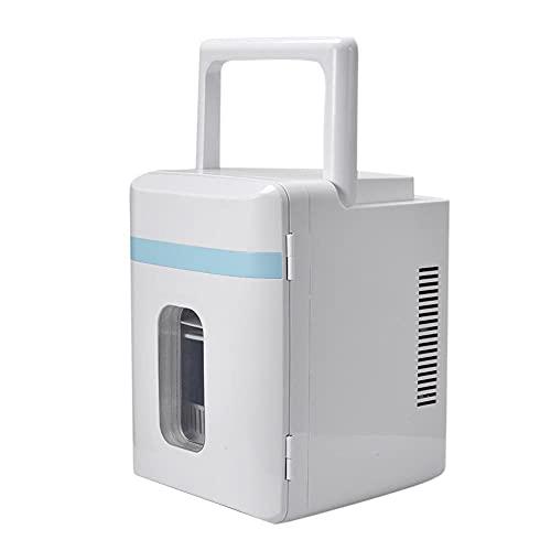 FIONAT Refrigerador portátil de 10L, compresor, enfriador eléctrico, Mini nevera/congelador para conducir, acampar, viajar, pescar, exterior, hogar, 36 * 27 * 25 cm