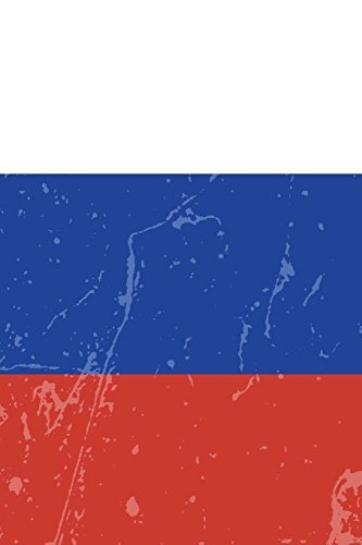 Russia Flag Journal: Russia Travel Diary, Russian Souvenir, lined Journal to write in