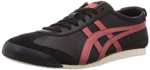 Onitsuka Tiger Mexico 66 Schuhe, Black/Burnt red, 40 EU