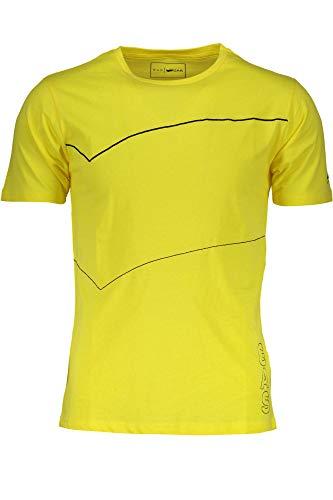 Gas T-Shirt Maniche Corte Uomo+[GATS01RNBW AB30]+[Giallo]+[Giallo]