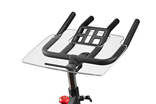 TFD The Sunny Tray | Compatibile con Sunny Health SF-B1805, Made in the USA | Supporto da scrivania per computer portatile, tablet, telefono e libro; stazione di lavoro per cyclette, facile da montare