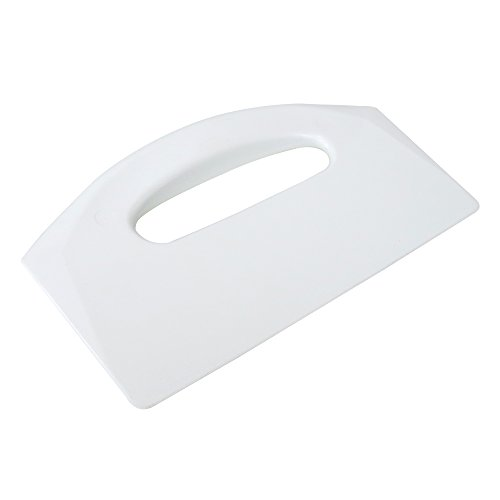 UltraSource Plastic Bowl/Dough Scraper, White, 8.5 x 5.5