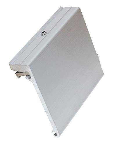 Extreme Max 3005.4113 Aluminum Slider Base for Crestliner SureMount Gunnel System, Each