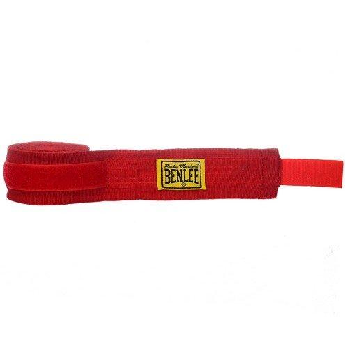 BENLEE Rocky Marciano-Streifen Boxbandagen elastisch 450x 5cm rot
