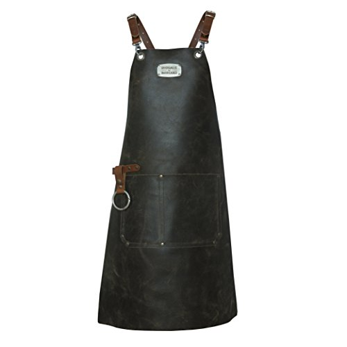 Brickwalls and Barricades 'The x-Cross Leather Apron vintage