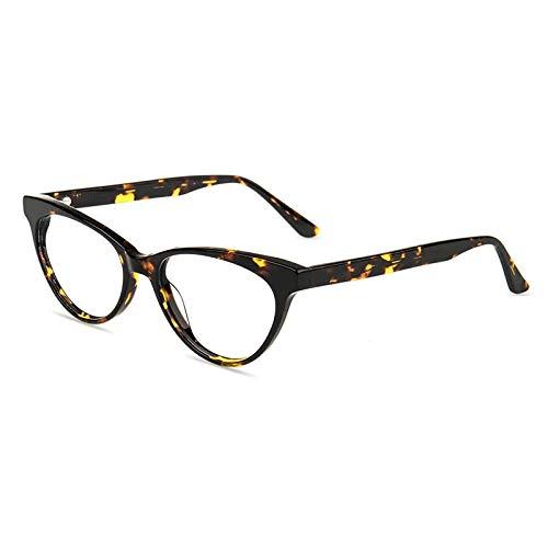 Firmoo Occhiali di Gatto Donna Luce Blu Bloccanti per il Mal di Testa, Occhiali per Computer Antiriflesso Dormire Meglio (Tartaruga)
