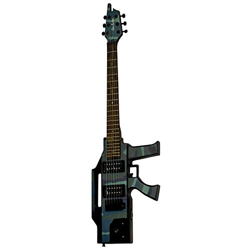 Glen Burton GE47 Solid Body Electric Guitar, Camo
