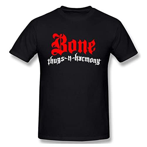 Bone Thugs-N-Harmony Herren- und Jugendmode Kurzarm-T-Shirt aus Baumwolle Grafisches T-Shirt Gro?