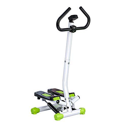 XLanY Stepper Mit Griff Workout Fitnessgerät, Home Handrail Stepper, Cross Trainer & Air Walker Trainingsgerät Für Seitlichen Oberschenkel Gewichtsverlust
