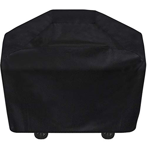 Gas Grill Cover 65 inch BBQ Grill Cover Durable Waterproof Large Grill Covers Outdoor All Weather amp UVResistant Barbecue Cover for Most Weber Brinkmann Charbroil Holland Jenn Air Nexgrill