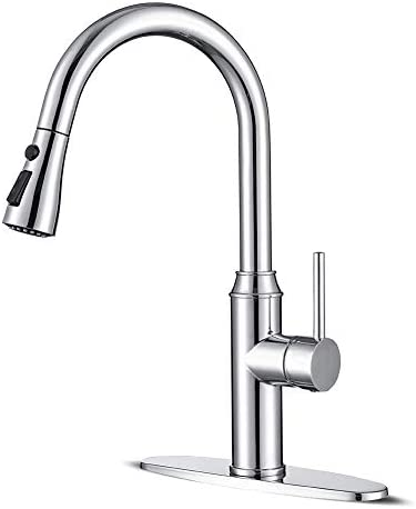 Kitchen faucets with Pull Down Sprayer faucets for Kitchen Sinks Chrome Kitchen Faucet Stainless product image